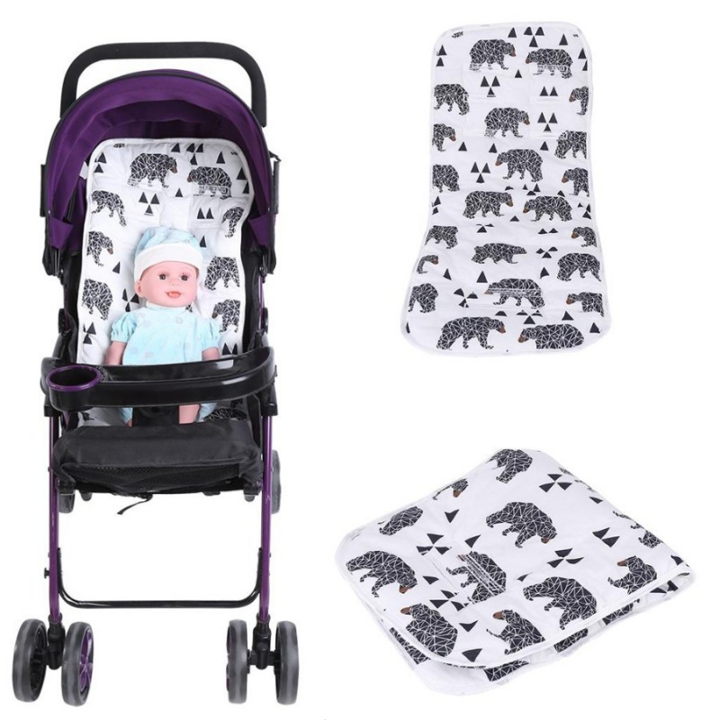 Trolley Stroller Baby Pushchair Seat Infant Pad Ice Mat Cushion Cool Liners