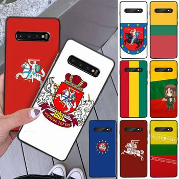 Lithuania Latvia Flag Phone Case Coque Fundas Etui For Samsung Galaxy A10 A20 A30S A40 A50 A51 A70 A71 Note 8 9 10 Cases Cover image