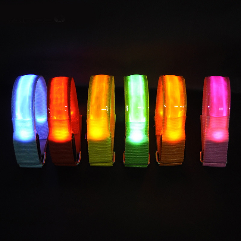 Outdoor Night Running LED Light Strip Bicycle Outdoor Safety Warning Light Belt Cycling Equipment