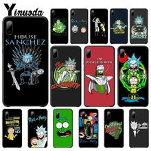 yinuoda rick and morty mr pickles rick newest super cute phone cases for iphone 8 8plus 7 7plus 6s 6splus xsmax x xs xr Yinuoda Pickle Rick Rick And Morty Mobile Phone Case For Iphone 5s Se 6 6s 7 8 Plus X Xs Max Xr 11 Pro Max Telephone Accessories