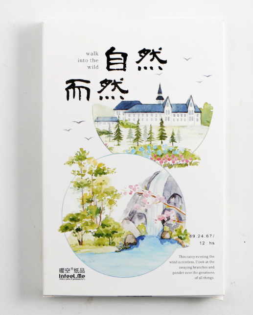 P199- Natural World Paper Postcard(1pack=30pieces)