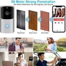 M10 Pro akıllı 1080P WiFi Video kapı zili kamera görsel interkom Chime ile gece görüş IP kapı zili kablosuz ev güvenlik kamera