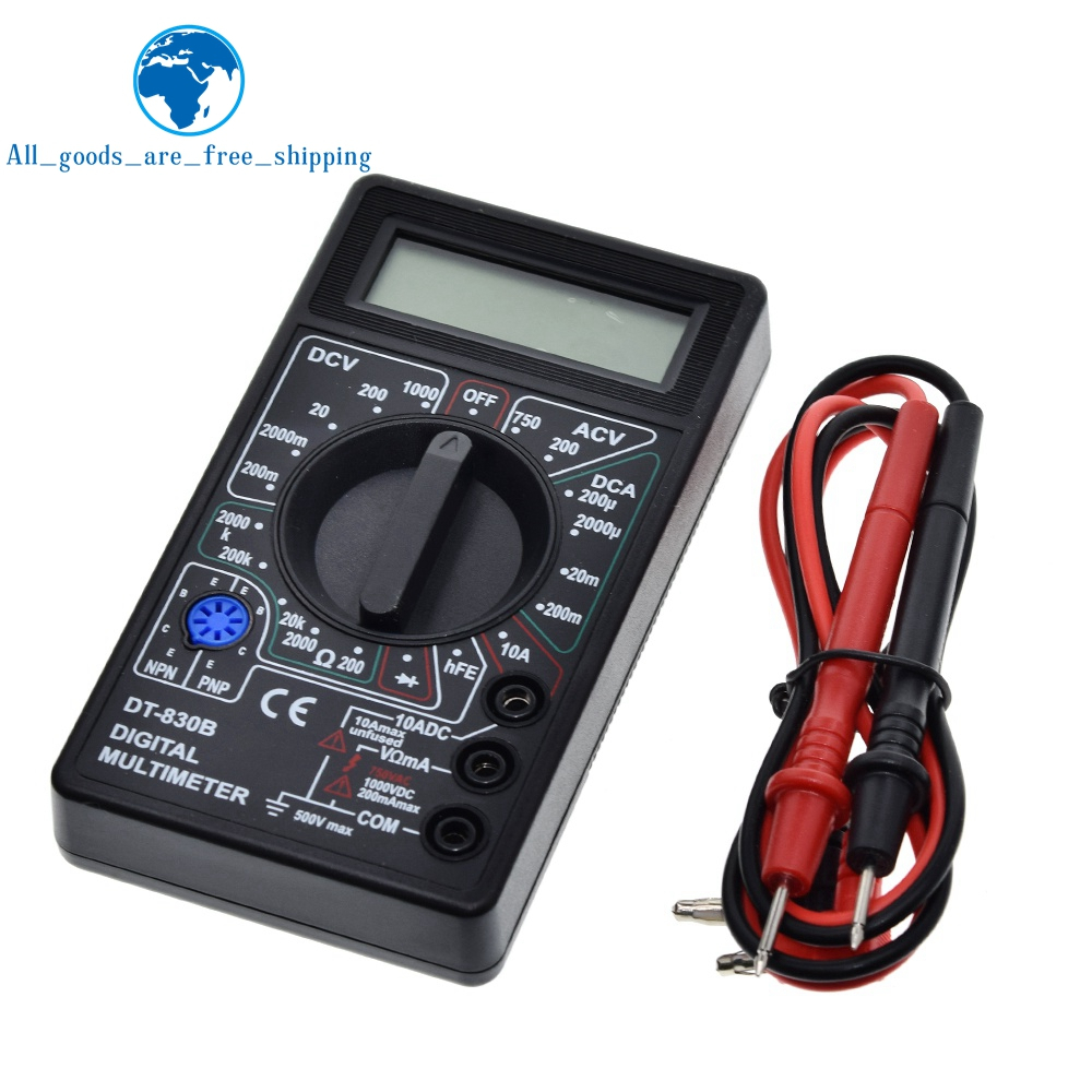 DT830B Digital Multimeter AC/DC LCD Digital Multimeter