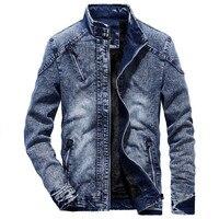 OEAK Denim Jacket men Autumn and Spring fashion Jeans Jacket Coat Male Slim Fit Casual Coats outwear jacket and coats M 3XL