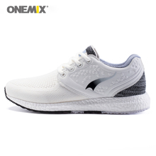 Onemix Breathable Mesh Running Shoes Women Athletic Trainers Red Zapatillas Tennis Sports Shoe Outdoor Walking Sneakers onemix 2018 men running shoes for women mesh knit trainers designer trends tennis sports outdoor travel trail walking sneakers