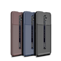 style protective For OPPO Reno2 F Case Business Style Silicone Rubber Shell Back Phone Cover For OPPO Reno 2 F Protective Case For OPPO Reno 2F (1)