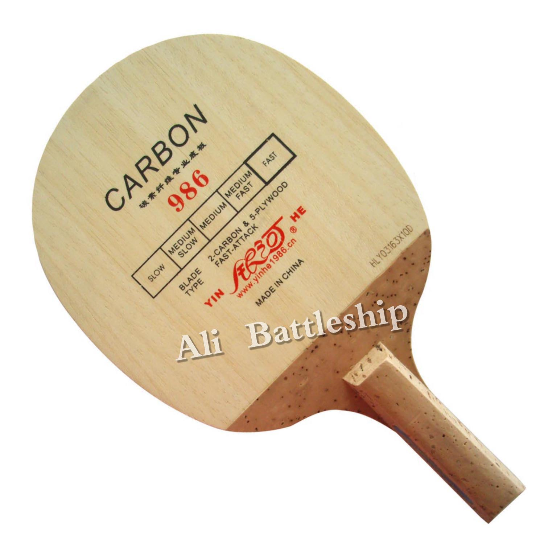 Original Yinhe Milky Way Galaxy 986 Japanese Penhold Table Tennis Pingpong Blade