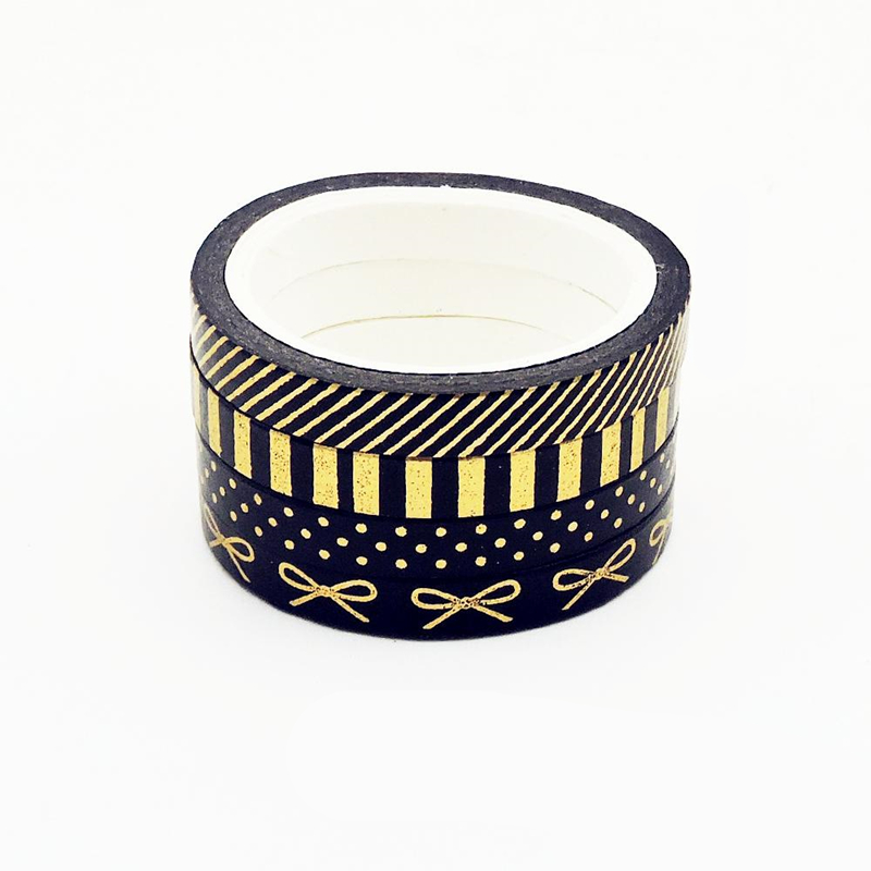 Foil Bow Washi Tape Set