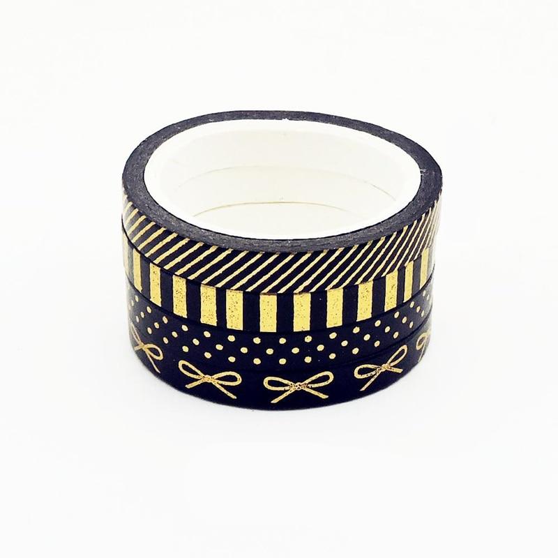 Foil Bow Washi Tape Set