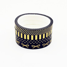 Foil Busur Washi Tape Set(China)