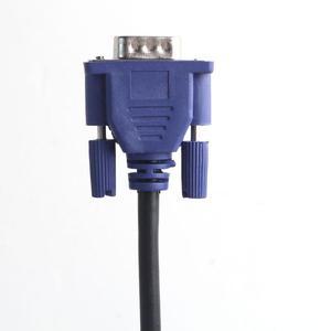 Image 4 - 1,5 m/3m/5m VGA Verlängerung Kabel HD 15 Pin Stecker auf Stecker VGA Kabel Kabel draht Linie Kupfer Core für PC Computer Monitor Projektor