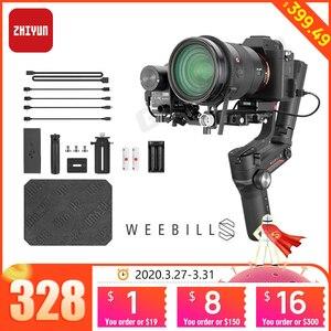 Image 1 - Zhiyun WEEBILL S 3 stabilizator osi dla Sony Panasonic GH5s bez lustra aparatu ręczny Gimbal z kontroli ostrości pk DJI Ronin sc