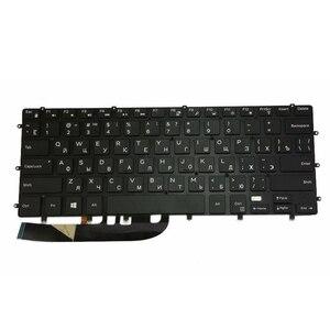 Image 3 - GZEELE Neue Beleuchtete Tastatur Für DELL XPS 15 9550 9560 5510 M5510 RU Russische DLM14L23SUJ442 0HPHGJ SCHWARZ ohne rahmen hintergrundbeleuchtung