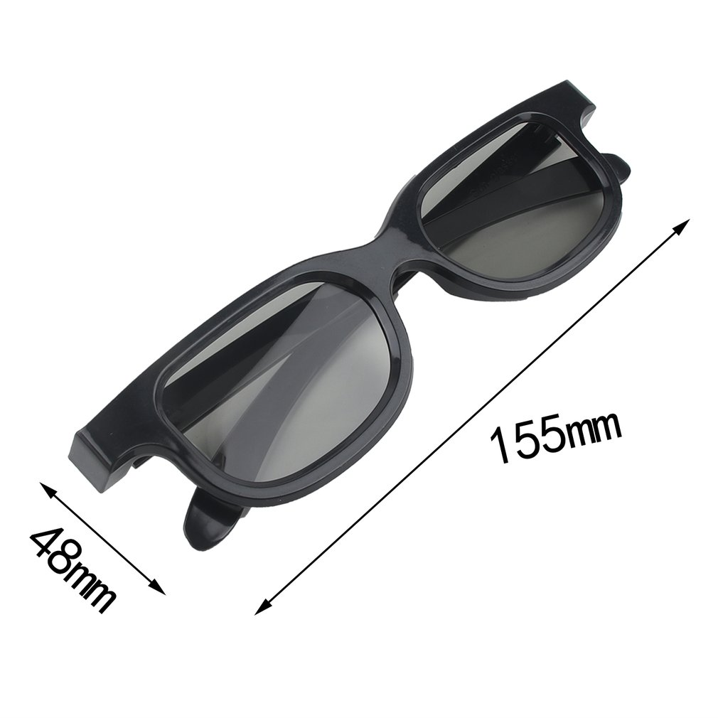 Hot  Sale Circular Polarizing Passive Woman Man 3D Movie Glasses For 3D TV Cinemas High Quality Fashion Pakistan