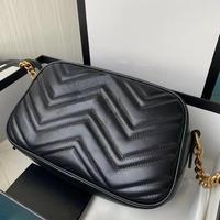 Designer Luxury bag metal logo Crossbody bags for women fashion camera bag female hand bag high quality lady genuine leather