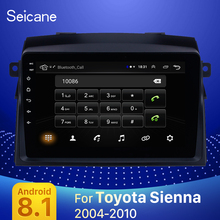 Seicane Android 9,1 2DIN Auto Head Unit Radio Audio GPS Multimedia Player Für 2004 2005 2006 2007 2008 2009 2010 toyota Sienna