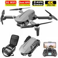 Drone professionale F4 4K con doppia fotocamera 5G GPS WiFi FPV 2 assi Gimbal Camera Dron Boy Toy Brushless RC Quadcopter VS SG906 Pro