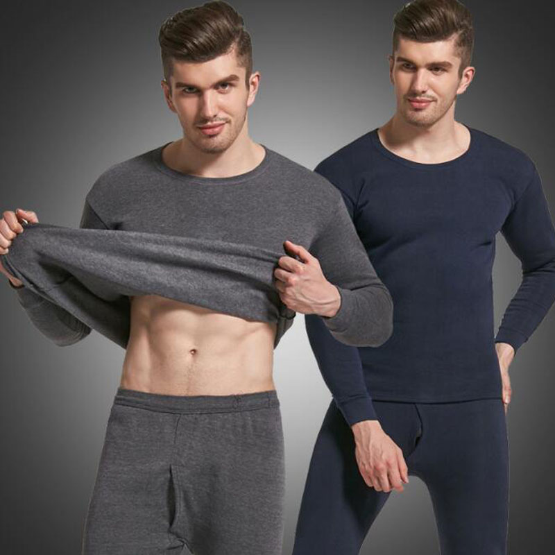 2019 New Style Thermal Underwear Sets For Men Winter Thermo Underwear Long  Winter Clothes Men Thick Thermal Clothing