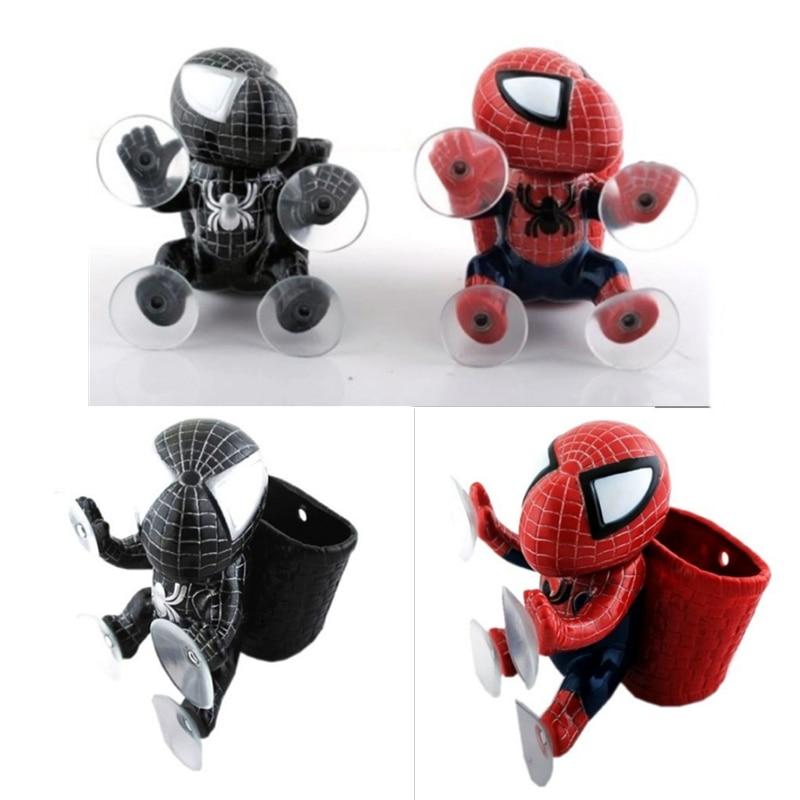 Super Hero Panniers Spiderman Q Version Suction Cup Car Window Sucker Decoration Toy