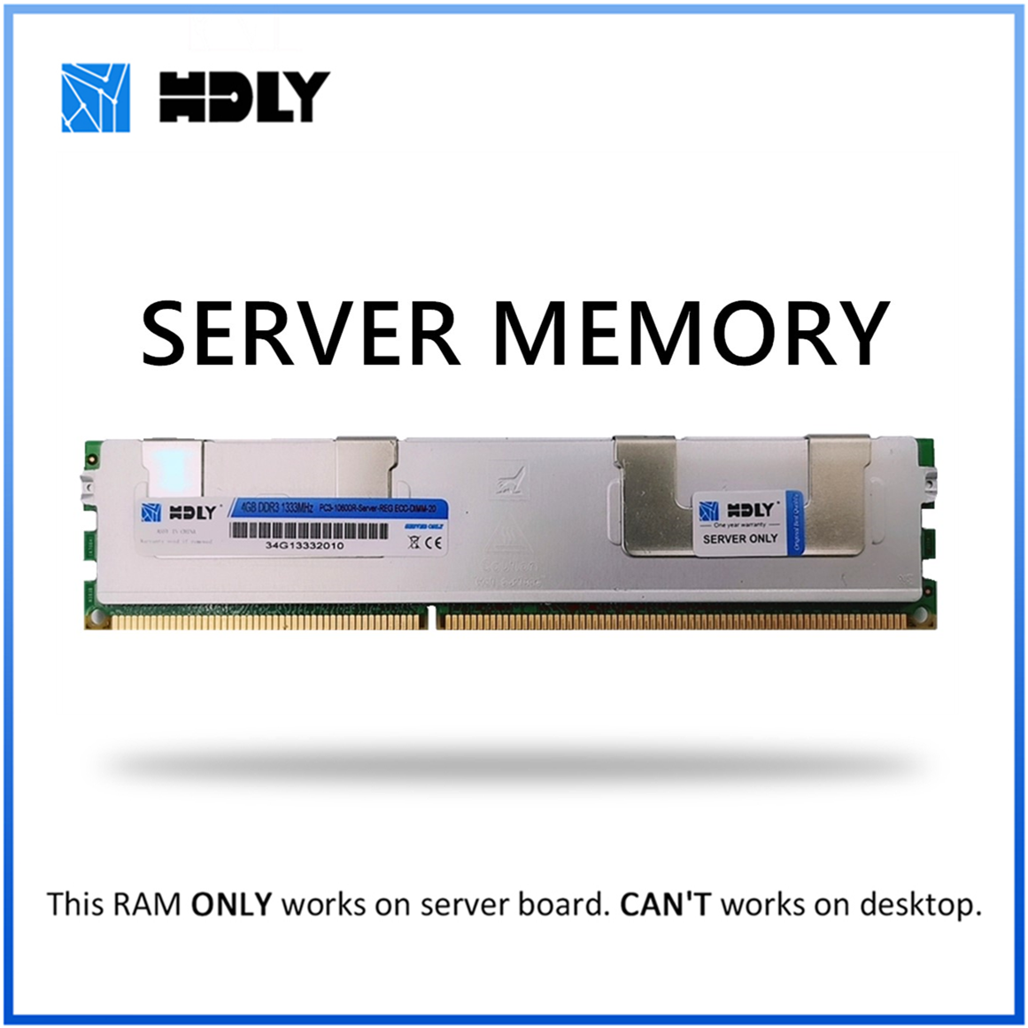 RAM with Heat Sink <font><b>DDR3</b></font> <font><b>4GB</b></font> 8GB 16GB 32GB 1333MHz <font><b>1600Mhz</b></font> 1066Mhz REG ECC HDLY Server Memory 2011 CPU X58 X79 Motherboard Dimm image