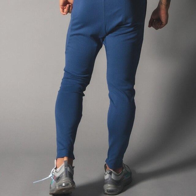 2021 New Men's sports pants Fitness Jogging pants Fitness Jogging pants Slim Men's Leisure cotton Training 2