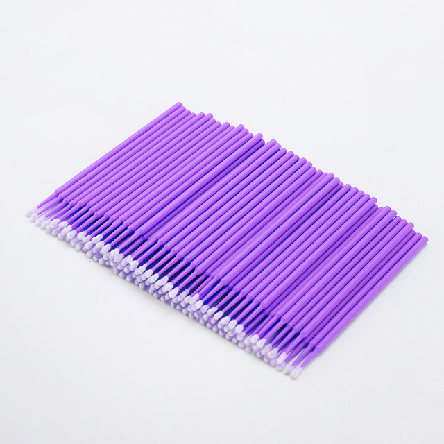 100PCS Tattoo Cotton Swab Lint Free Supplies Brush Microblading Micro Brushes Applicator Tattoo Accessories For Makeup 4
