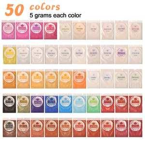 Mica-Powder Dye-Pearl-Pigment Epoxy-Resin Dewel for Eyeshadow/blush
