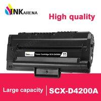INKARENA Black Refillable Toner Cartridges For Samsung SCX 4200 SCX 4200 SCX D4200A D4200A Laser Printer