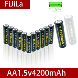 2021NEW1.5V AA NI MH Rechargeable AA Battery Alkaline 4200mAh For Torch Toys Clock MP3 Player Replace Ni-Mh Battery