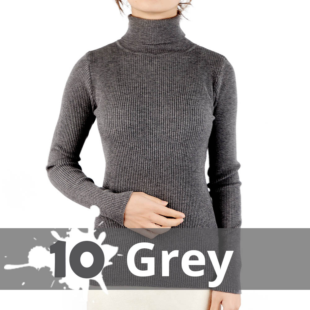 2021 Autumn Winter Thick Sweater Women Knitted Ribbed Pullover Sweater Long Sleeve Turtleneck Slim Jumper Soft Warm Pull Femme 9