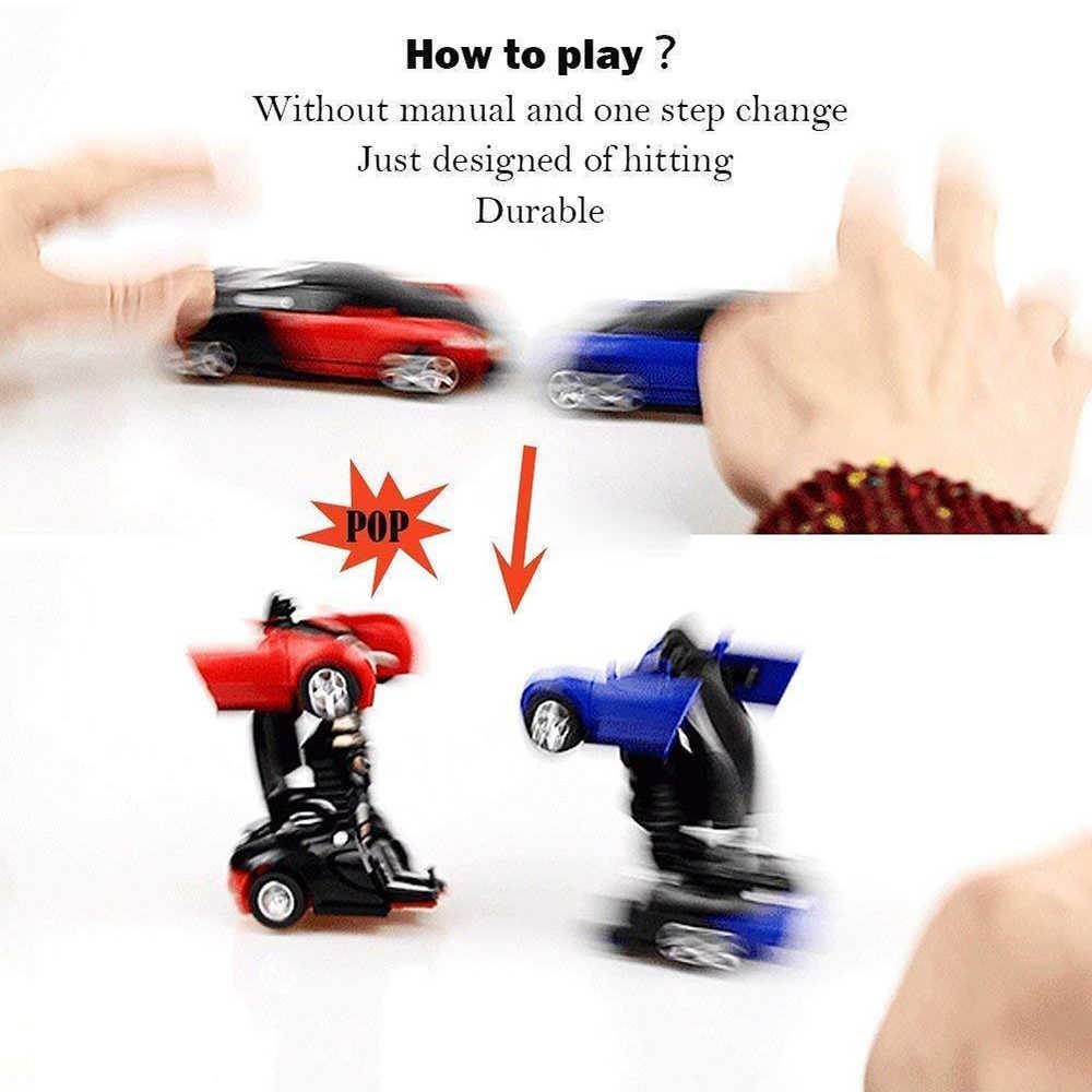 חינוך צעצוע שינוי רובוטים ספורט רכב דגם רובוטים צעצועי פלסטיק צעצועי פעולה איור צעצועי ילד רכב דגם