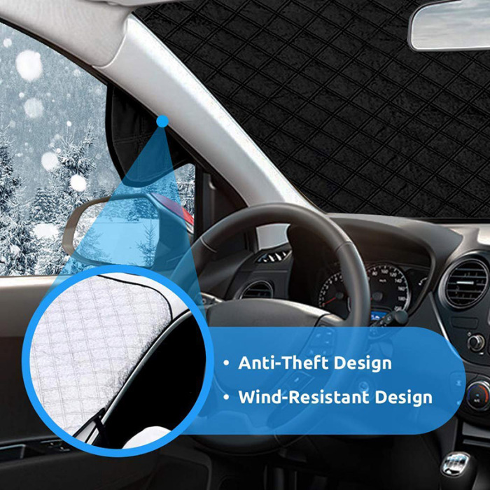 Car Windshield Snow Cover Waterproof Protection For Winter 8