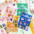 Mohamm 1Pc Candy Bär Serie Aufkleber Dekoration Scrapbooking Papier Kreative Stationäre Schule Liefert