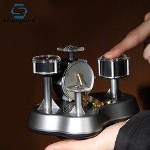 Strongwell אצבע מגע מיני תוף מיניאטורי צלמיות כלי הקשה צעצוע Creative עיצוב הבית אביזרי מתנה עבור החבר