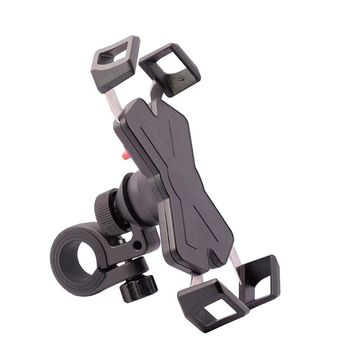 360 Degree Rotary Motorcycle Phone Holder Universal Smartphone Mount Support Bracket for Motorbike Rear View Mirror
