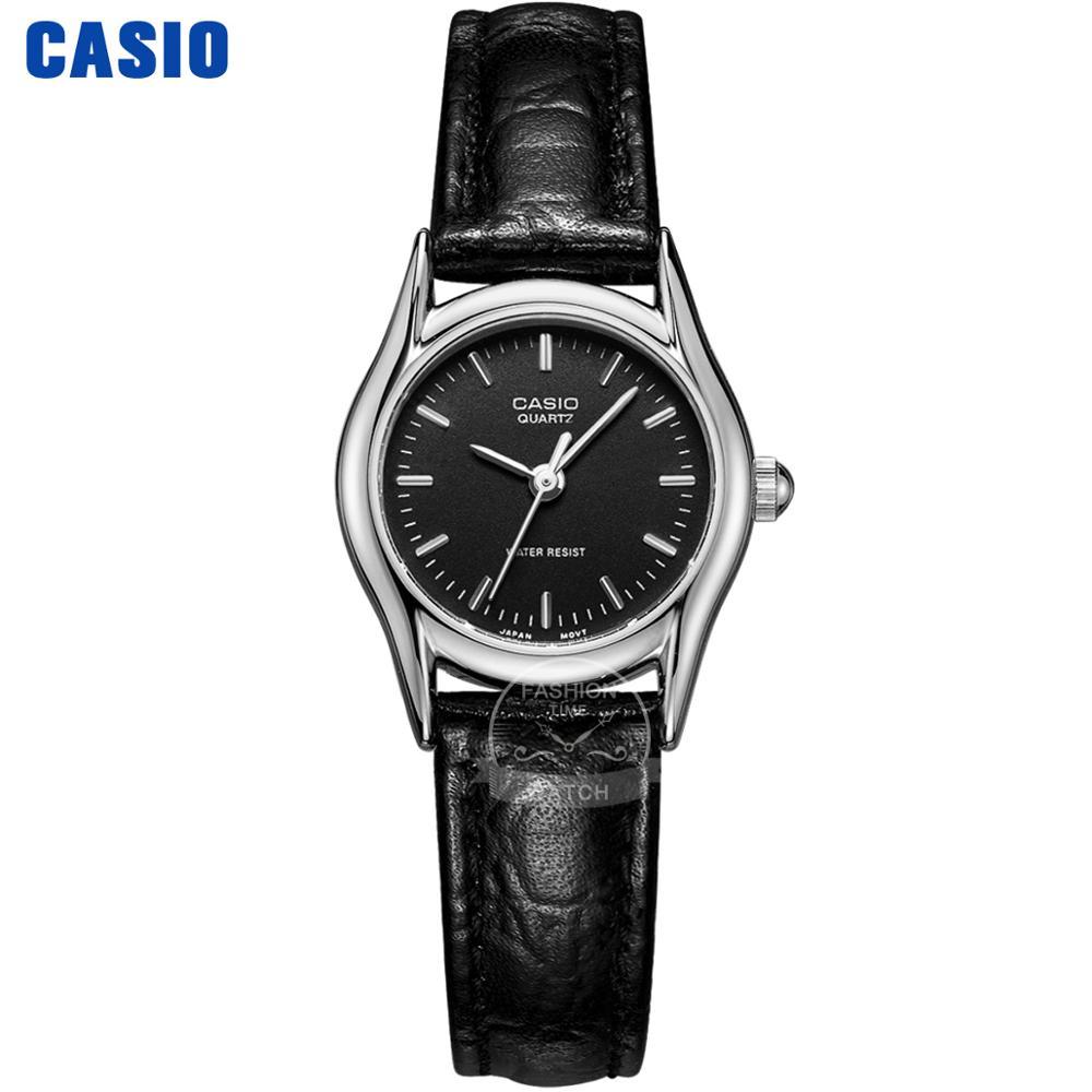Casio Watch Analogue Women's Quartz Watch Fashion Simple Sport Waterproof Pointer Leather Strap Watch Relogio Feminino LTP-1094E