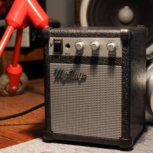 Réplica Retro de amplificador de guitarra de alta fidelidad/Mi Amp Audio altavoz portátil/Amp Audio Mini altavoces para guitarra Bass Stereo