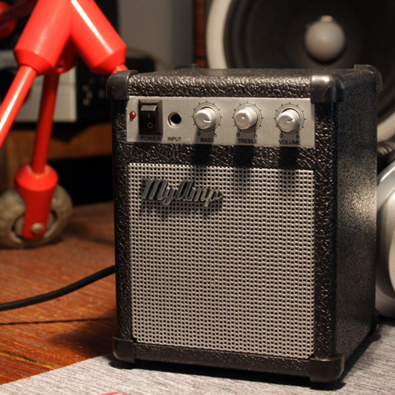 Retro Replica Guitar Amplifier High Fidelity / My Amp Audio Portable Speaker / Amp Audio Mini Guitar Speakers Bass Stereo