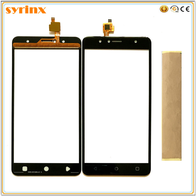 Syrinx Free Tape For Vertex Impress Baccara Versions Touchscreen Sensor Touch Screen Digitizer Touch Panel Front Glass Touchpad