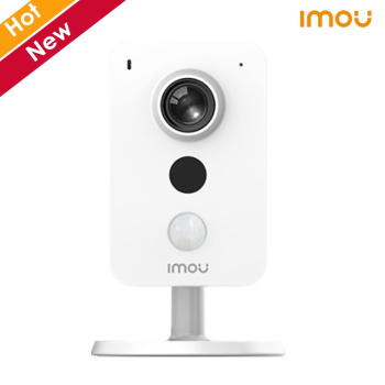 Dahua Imou Cube Poe Camera 4MP Two-way Talk Built in MIC and Speaker Support PIR and Sound Detection Wireless Camera IP