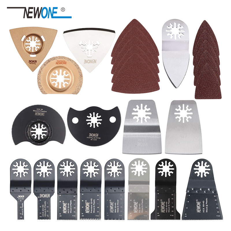 Popular 66 Pcs Oscillating Multi Tool Saw Blades For Renovator Power Tools As Fein Multimaster,Dremel,Electric Tools Accessories