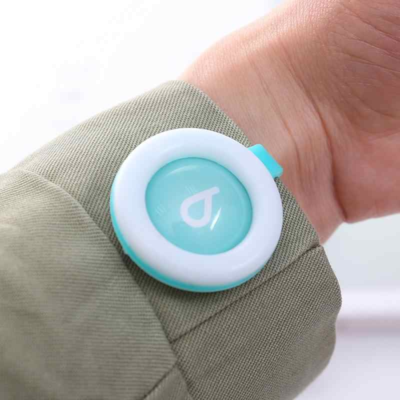 10 Pcs Mosquito Repellent ปุ่มเด็กทารกหัวเข็มขัดกลางแจ้ง Anti-ยุงไล่ยุงปุ่มสำหรับเด็ก Dropship