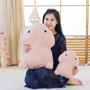 Image 1 - 1pc 20/30/50CM Cute Penis Plush Toys Sexy Pillow Soft Stuffed Soft Funny Cushion Simulation Lovely Dolls Gift for Girlfriend