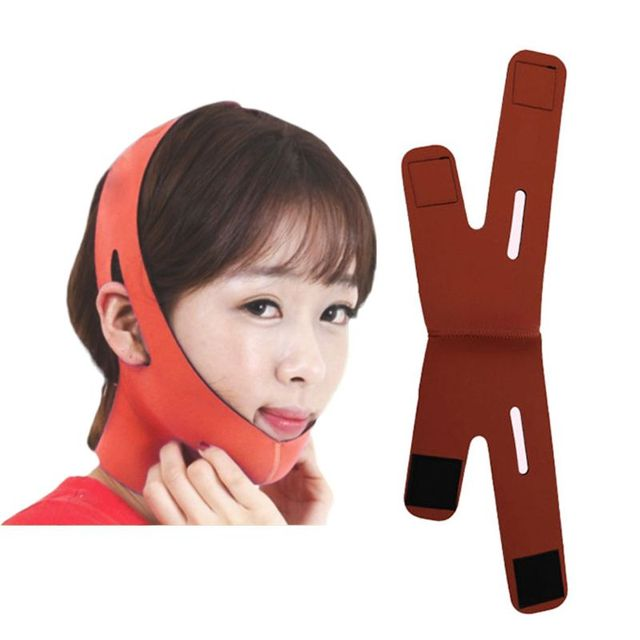 Korean Women Delicate Facial Slimming Bandage Belt V-Face Mask Reduce Double Chin Skin Care Strap Beauty Shaper Face Lift Tools 1
