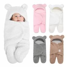 Blanket Swaddle Receiving Sleeping-Bag Nursery-Wrap Newborn Infant Ultra-Soft Fleece