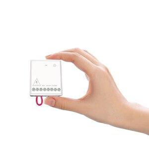 Image 3 - شحن سريع Aqara Eigenstone اتجاهين وحدة التحكم اللاسلكية التتابع تحكم 2 قنوات العمل للمنزل الذكي APP المنزل عدة