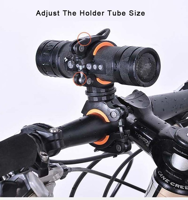 Clipe de braçadeira para ciclismo, clipe de lanterna para bicicleta de rotação 360 graus de montagem cabeça dianteira suporte clipe acessórios para bicicleta 5