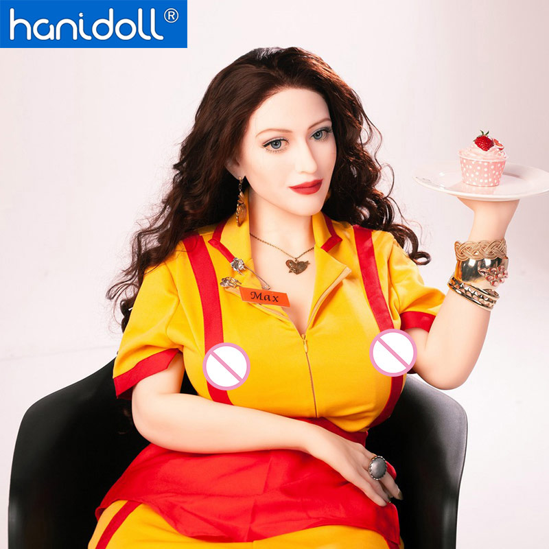 Hanidoll Silicone Sex Dolls Love Doll 162cm Real Sex Doll Realistic Vagina Big Ass Big Breast TPE Doll Sex Toys for Men