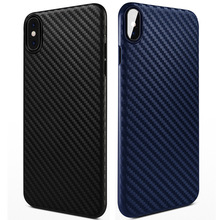 Carbon Fiber Ultra Thin Soft Phone Case For iPhone X XS Max XR 7 8 6 6S Plus Stripe Silicone Shockproof Slim Back Cover fundas