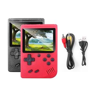 Image 5 - Klasyczny Design 400 w 1 Gameboy torba w stylu Retro gra wideo konsola 3.0 cal ekran TV AV OUT dla dziecka chłopiec prezent